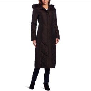 Via Spiga Hooded Maxi Puffer